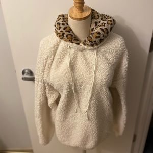 wild fable Tops - Wild Fable fuzzy oversized super soft hoodie